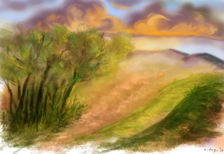 Scenery2 by k-bug
