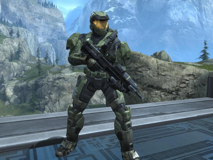Master Chief In Halo Reach By Kattalnuva On Deviantart