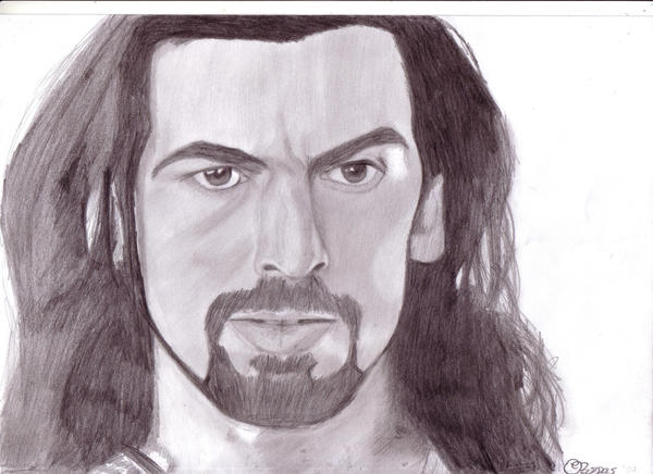 oded fehr wallpaper. Oded Fehr by ~SchizophrenicUnicorn on deviantART