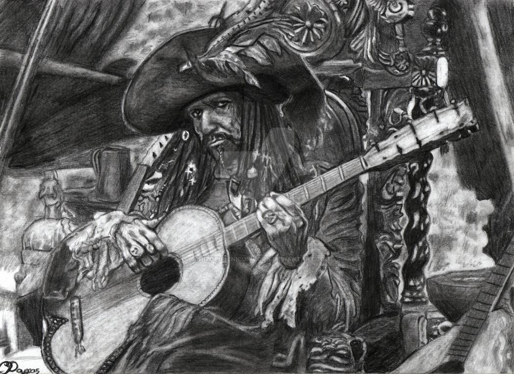 Captain Teague by SchizophrenicUnicorn