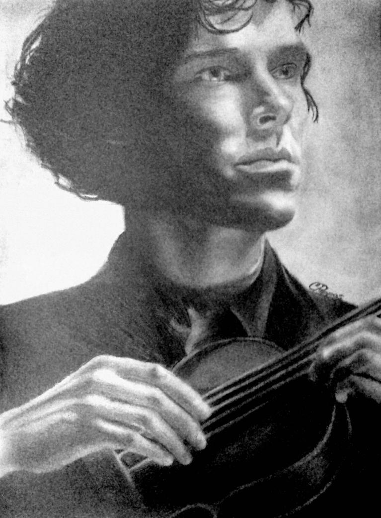 Sherlock Holmes by SchizophrenicUnicorn