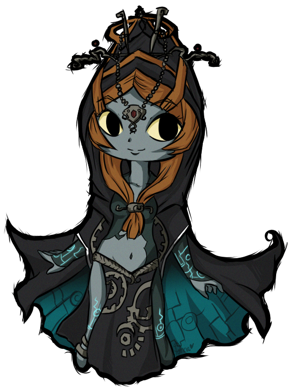 Wind Waker Midna by Raidiance