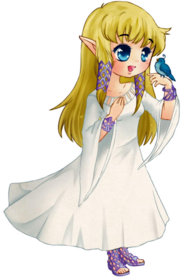 Cute Zelda By Raidiance