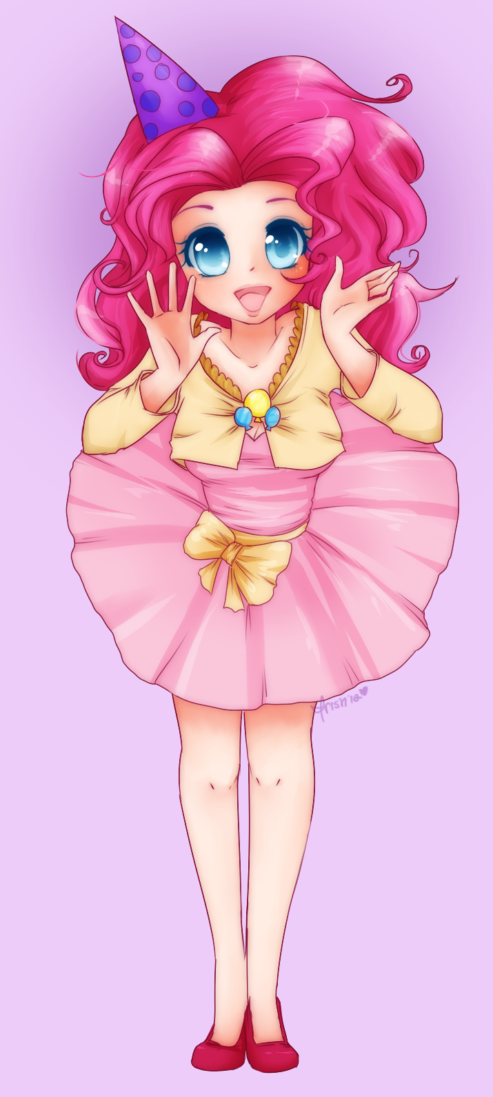 Human Pinkie Pie Shrug