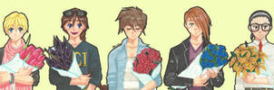 Hot Gundam Boys
