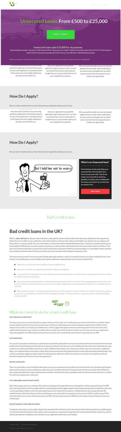 Unsecuredloans4u Infographics by shaazz4933