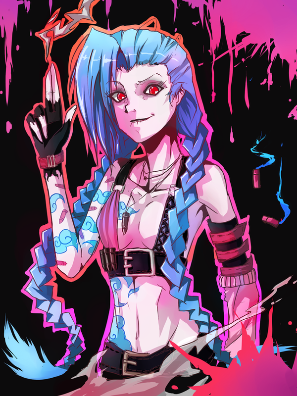 JINX The Loose Cannon by Fritharn