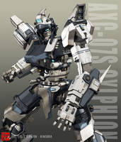 AXC-07S Cylphion +pose+ by shiningcin