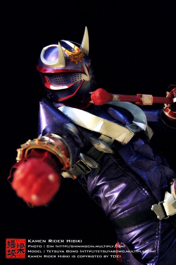 Kamen Rider Hibiki 3 by shiningcin