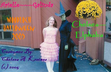 Elphaba and Galinda by MungoChelsQuaxo