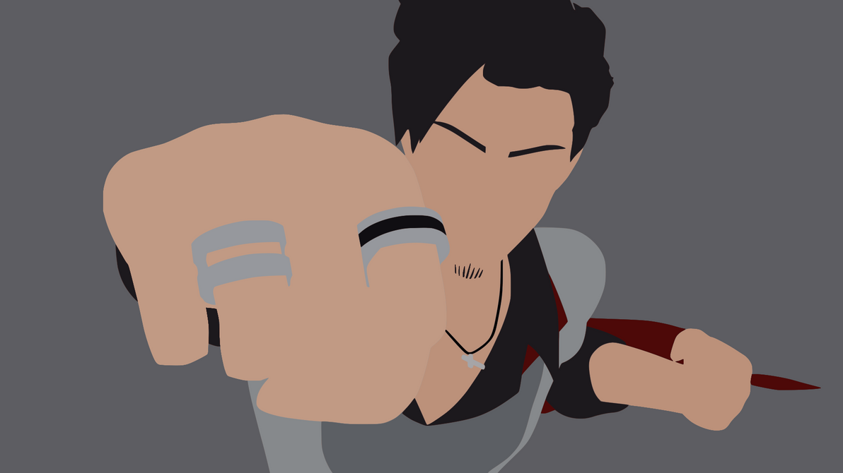 Qrow Minimalist Wallpaper by DamionMauville