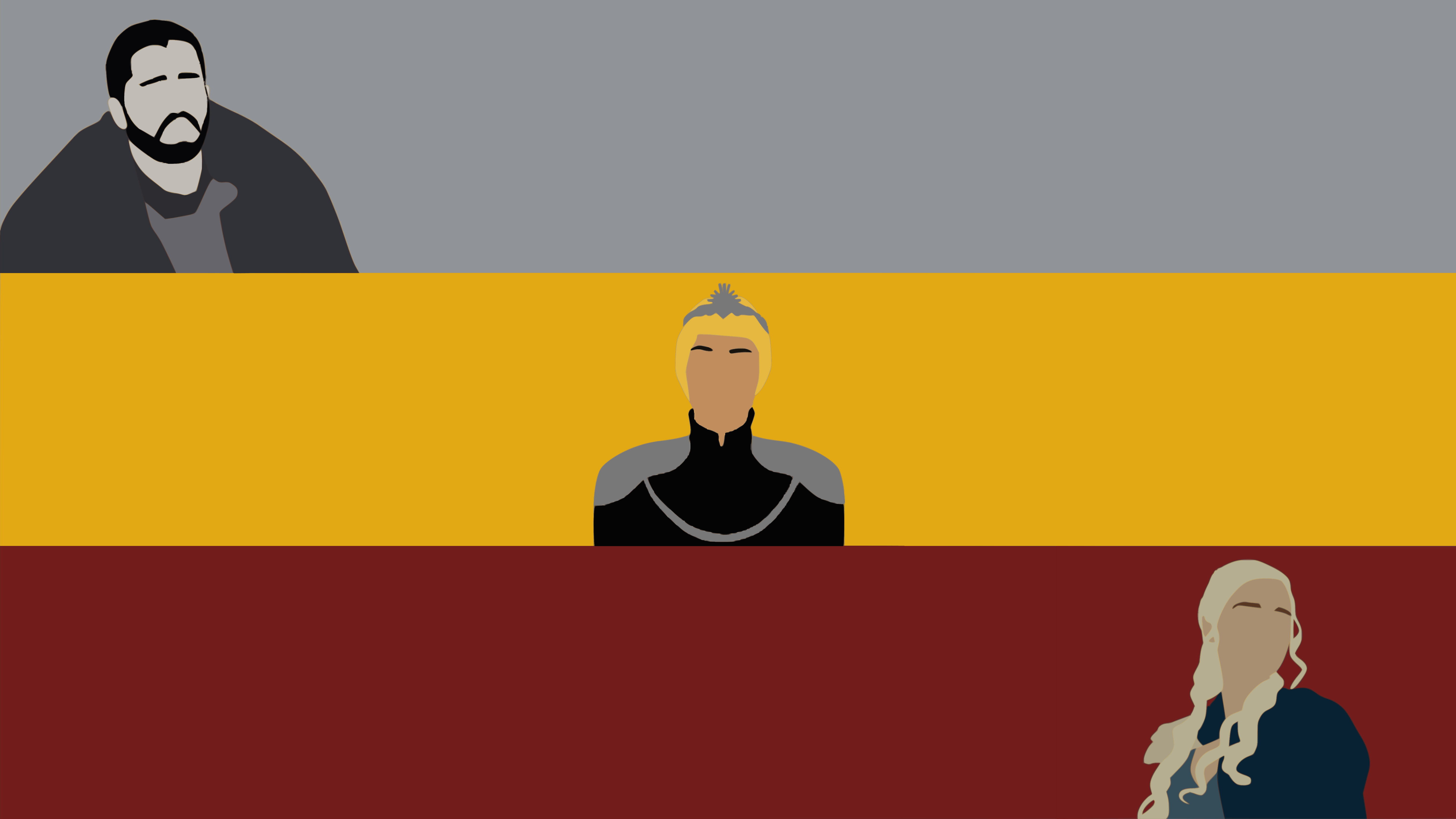 A Game Of Thrones Minimalist Wallpaper By Damionmauville On