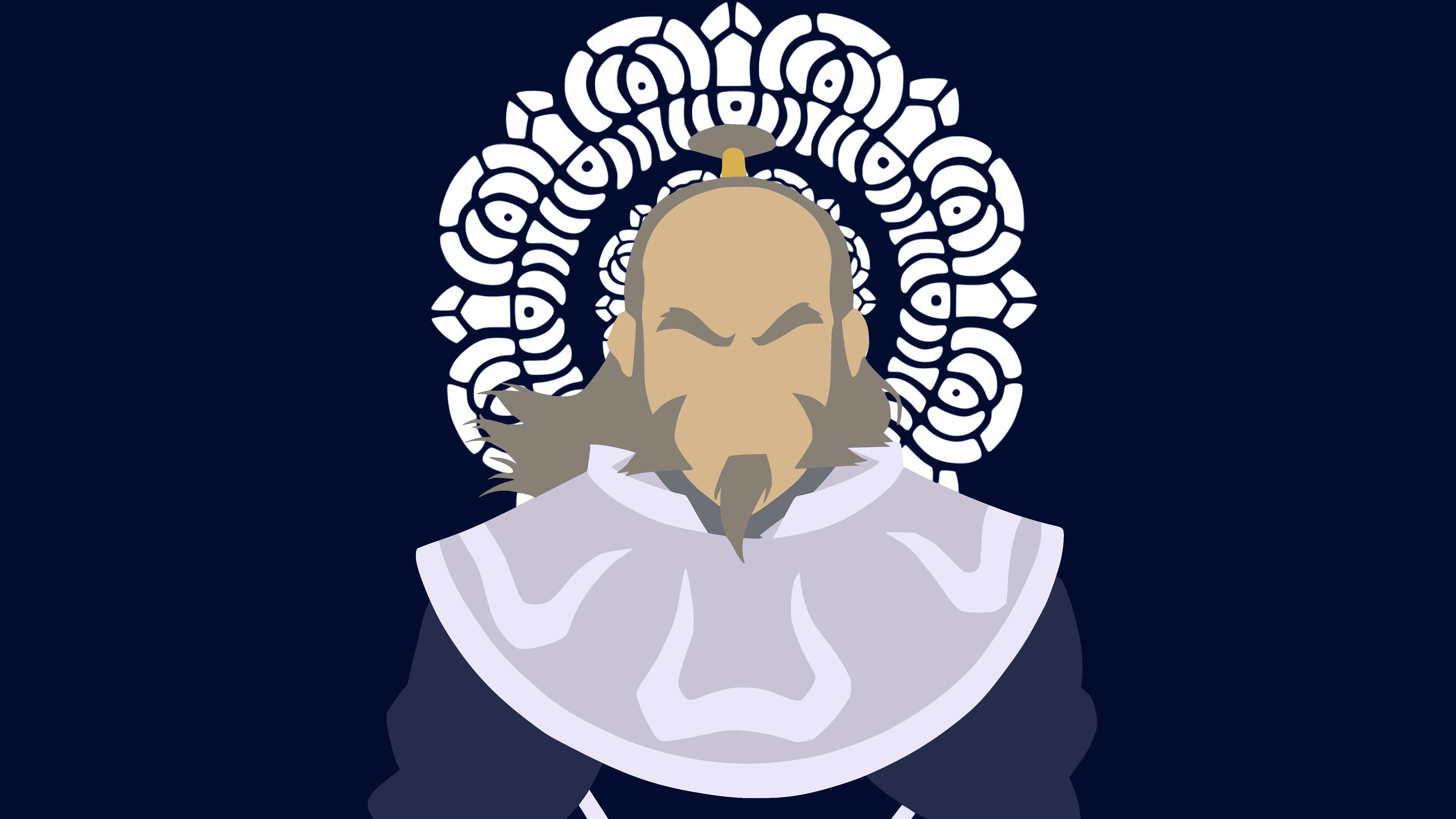Iroh White Lotus Wallpaper By Damionmauville On Deviantart