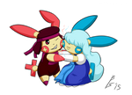 Ruby and Sapphire / Plusle and Minun