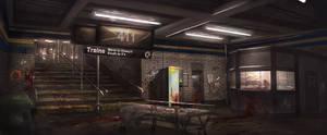 Subway concept art