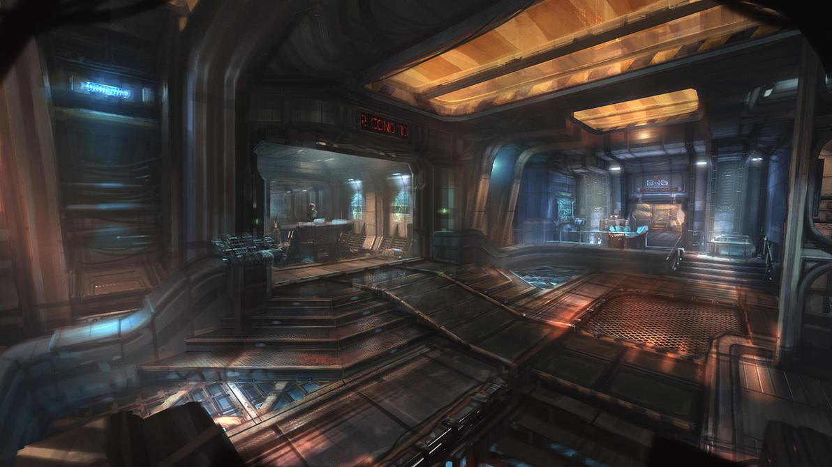 sci-fi doodie by Yellomice