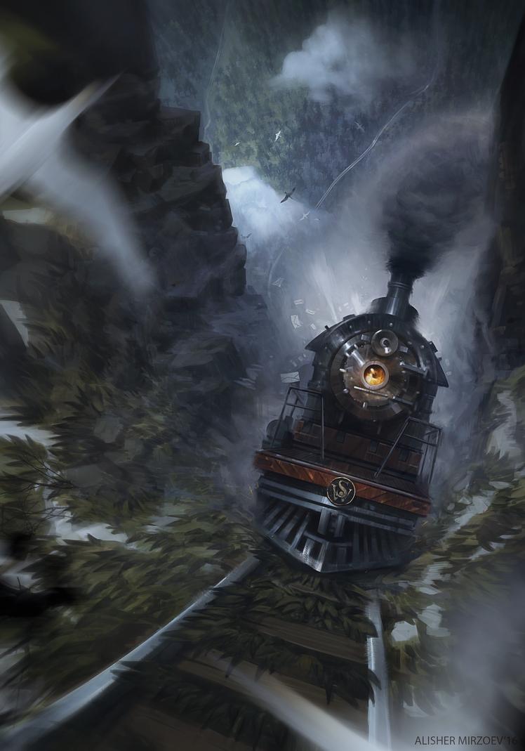 Sky Wanderer Express by Yellomice