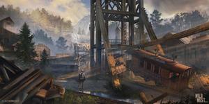 Wild West Challenge - Devil's Creek Mine station