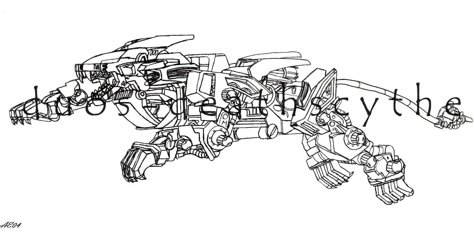 coloring pages zoids - photo#20