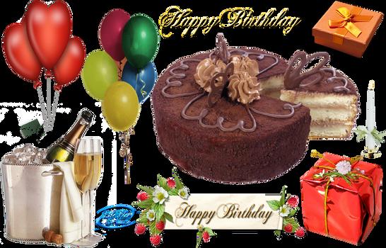 Happy Birthday - PNG