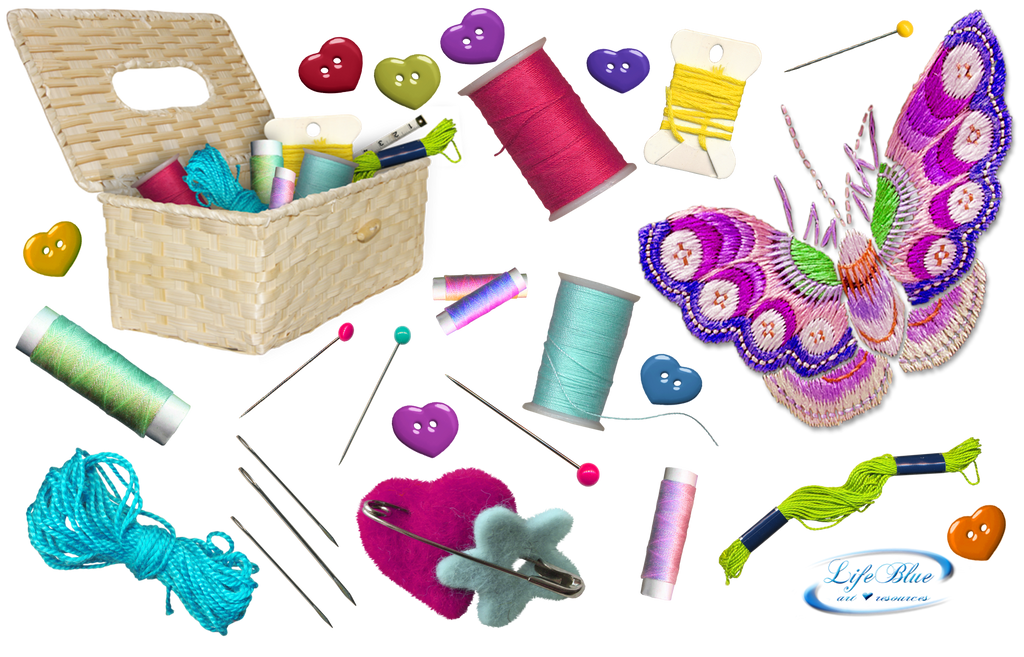 Set Sewing And Embroidery  PNG By Lifeblue On DeviantArt