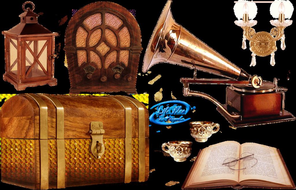 vintage objects png by lifeblue on deviantart. Black Bedroom Furniture Sets. Home Design Ideas