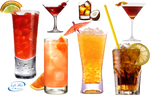 Delicious drinks - PNG