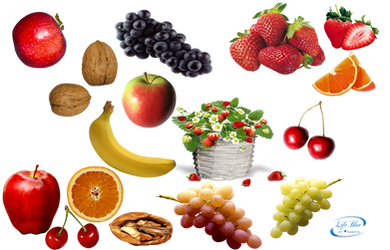 Fruits - PNG by lifeblue