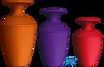 Vases - PNG