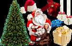 Merry Christmas Deviant Art ! - PNG