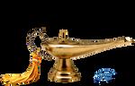 Magic lamp - PNG