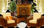 Interior decoration elements - PNG