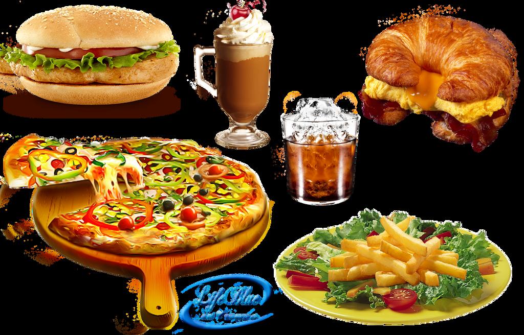 Tasty food - PNG by li...
