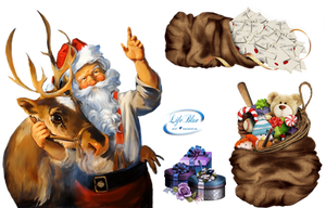 Santa Claus - PNG by lifeblue