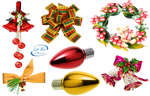 Christmas ornaments - PNG