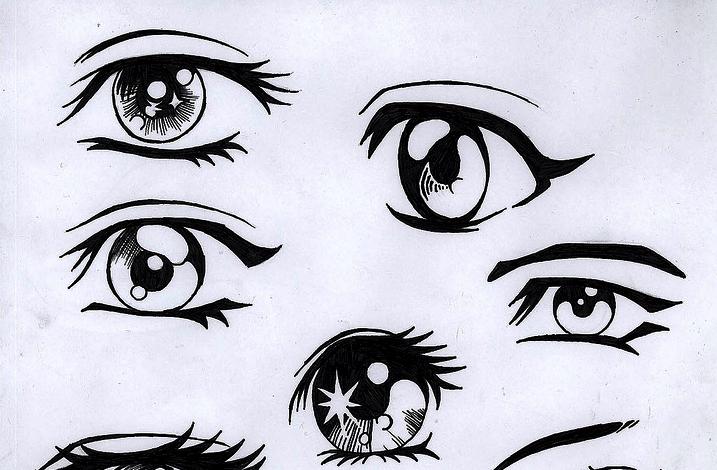 Anime Eyes By Animelover4482 On DeviantArt