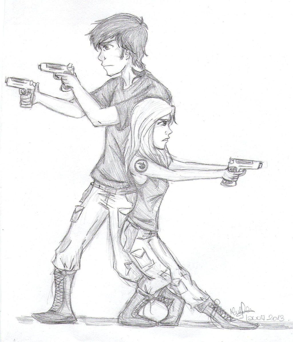 Tris and Four by lauu7 on DeviantArt