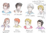 TID Characters