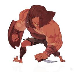 Lion Gladiator by RyuDan