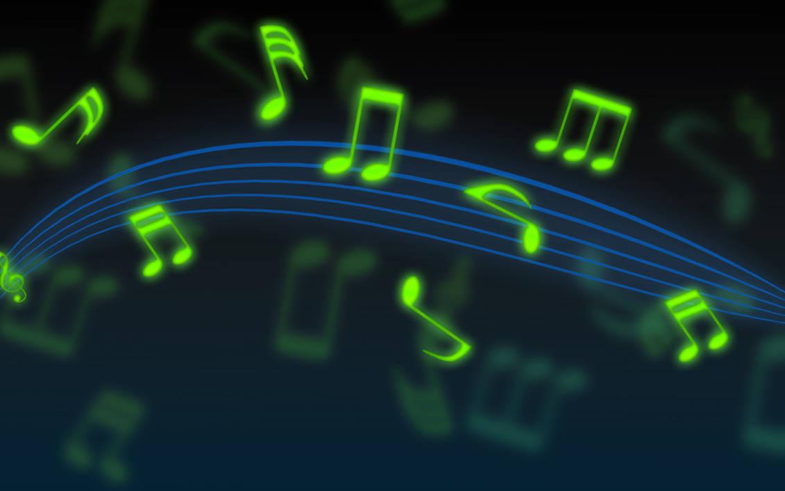 Very Simple Music Wallpaper by EyEz0444