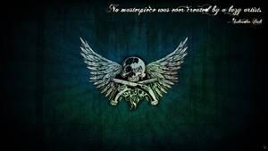 Grunge Skull Wallpaper by EyEz0444
