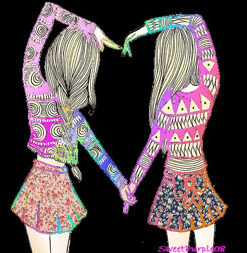 friend cute quotes drawn bff friends bilder drawings drawing bestfriends advertisement