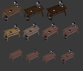 Wine-table by Nsuidara