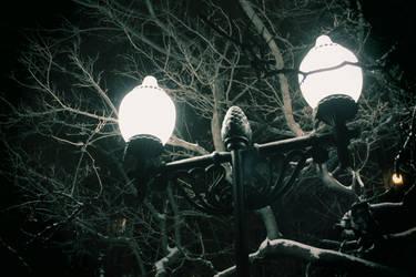 Night. Street. Lantern ... by Angel-Noxy