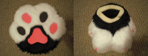 Destroya's Feet Paws WIP 2.5 by Lunar-Foxxie