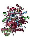 crazy eye by MonkeyMan-ArtWork