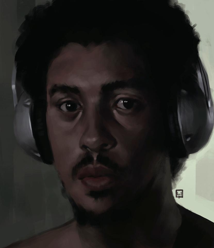 Happy self portrait day guys :) by MonkeyMan-ArtWork