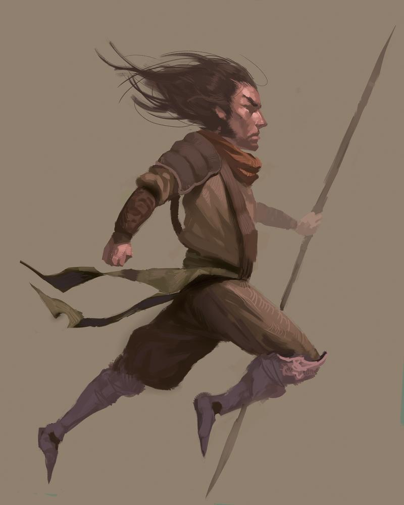 Scout sketch by MonkeyMan-ArtWork