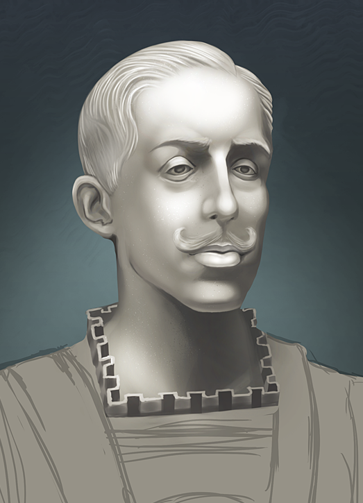 Paint Practice - Alfonso XIII by lkrecic