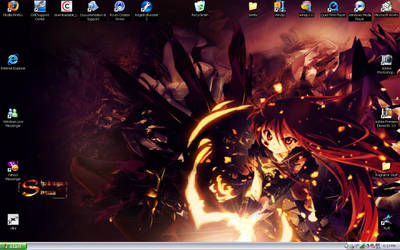 Shakugan No Shana desktop by TenshiNaKonamaiki